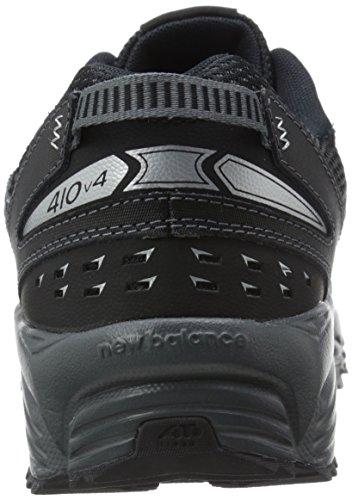 Nuovo Equilibrio Mens Mt410v4 Scarpa Da Trail Running Nero / Argento