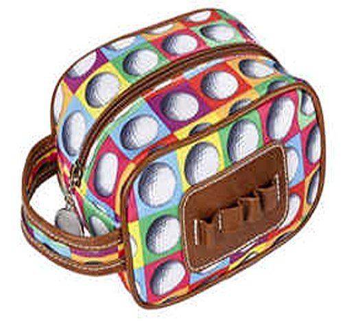 Sydney Love Ont The Ball Ladies Caddy Bag Cosmetic Case,Multi,One Size by Sydney Love (Image #1)