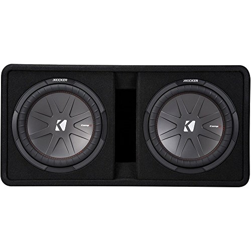 2 12-Inch 2000W Loaded Subwoofer Enclosure ()