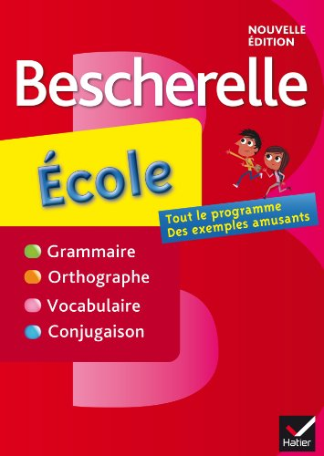 Bescherelle ecole (French Edition)