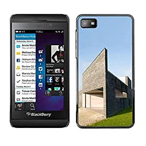 LECELL -- Funda protectora / Cubierta / Piel For Blackberry Z10 -- Architecture Modern House --