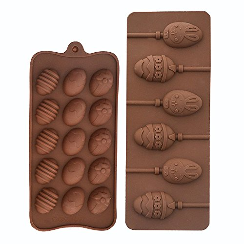 easter egg lollipop candy molds