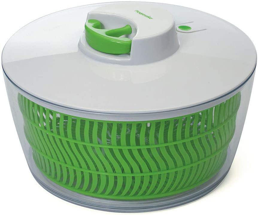 Prep Solutions by Progressive PS-1200 Prep Solutions salad spinner 4 Quart Green, Pull Cord