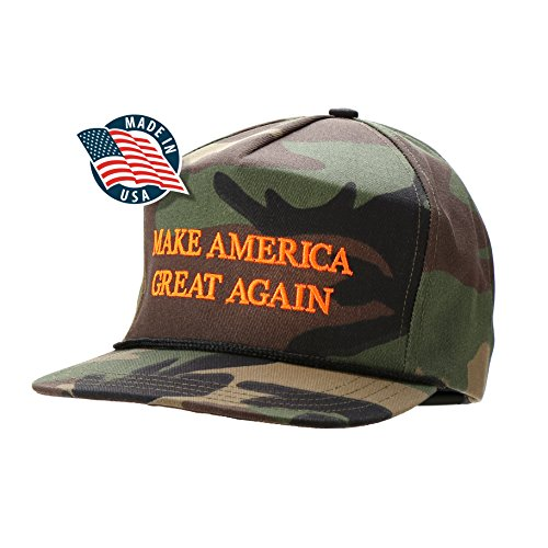 5ce237e7f62 BRC Make America Great Again! - Trump 2016 Adjustable Cap with Rope Front