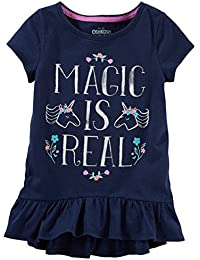 Girls' Toddler Short Sleeve Knit Tunic
