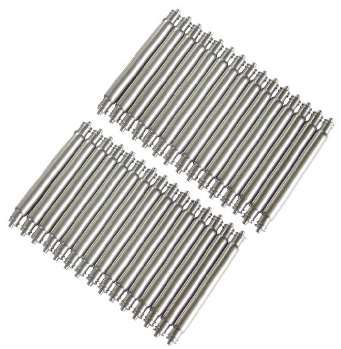 22mm Fat 2.5mm Dive Watch Spring Bars Set of 30 by HFWB (Image #2)