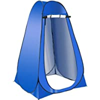 Camping Tent Outdoor Portable Folding Toilet Camping Shower Tent Pop Up Change Room Potty Bag