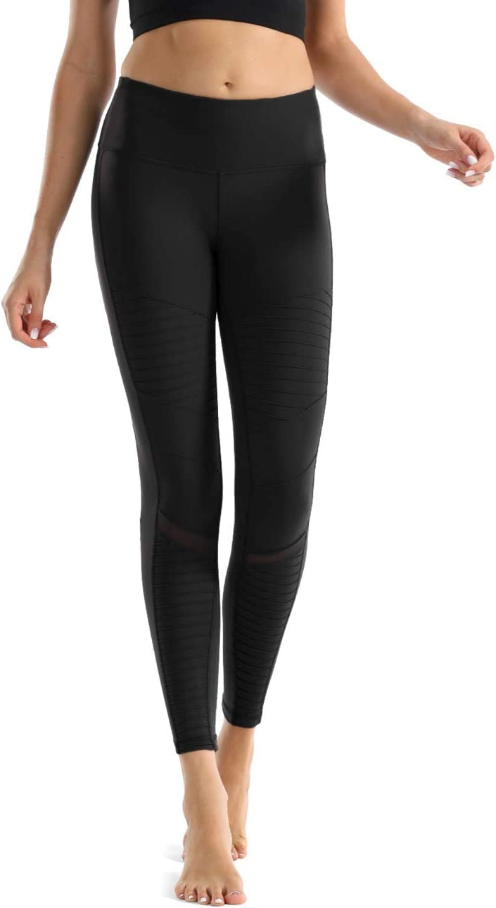 Nonwe Womens Moto Legging Yoga Pants