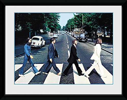 GB Eye LTD, The Beatles, Abbey Road, Foto incorniciata, 15 x 20 cm PFA089