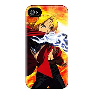 Scratch Resistant Cell-phone Hard Covers For Iphone 6plus With Allow Personal Design High Resolution Full Metal Alchemist Pattern KimberleyBoyes