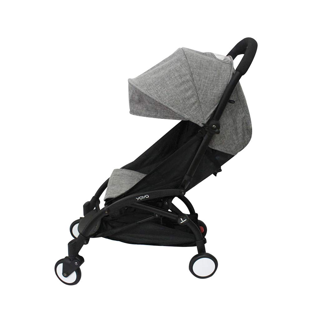 Baby Stroller Accessories Fit for Babyzen Yoyo Canopy and Seat Pad Liners for Yoya (Ma Grey) by SeedFuture
