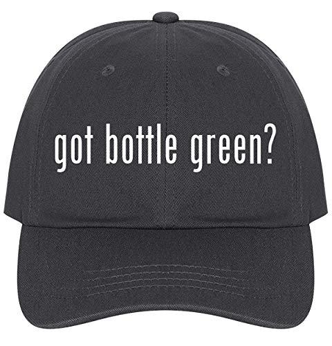 The Town Butler got Bottle Green? - A Nice Comfortable Adjustable Dad Hat Cap, Dark Grey