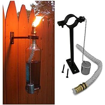 Amazon Com Kentucky Home Wine Bottle Tiki Torch Kit