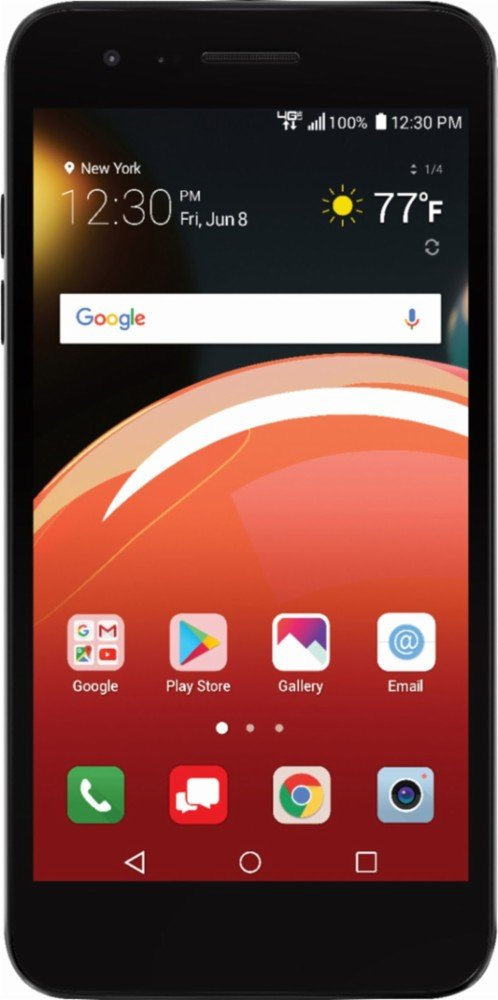 Verizon Prepaid – Zone 4 with 16GB Memory Prepaid Cell Phone – Moroccan Blue
