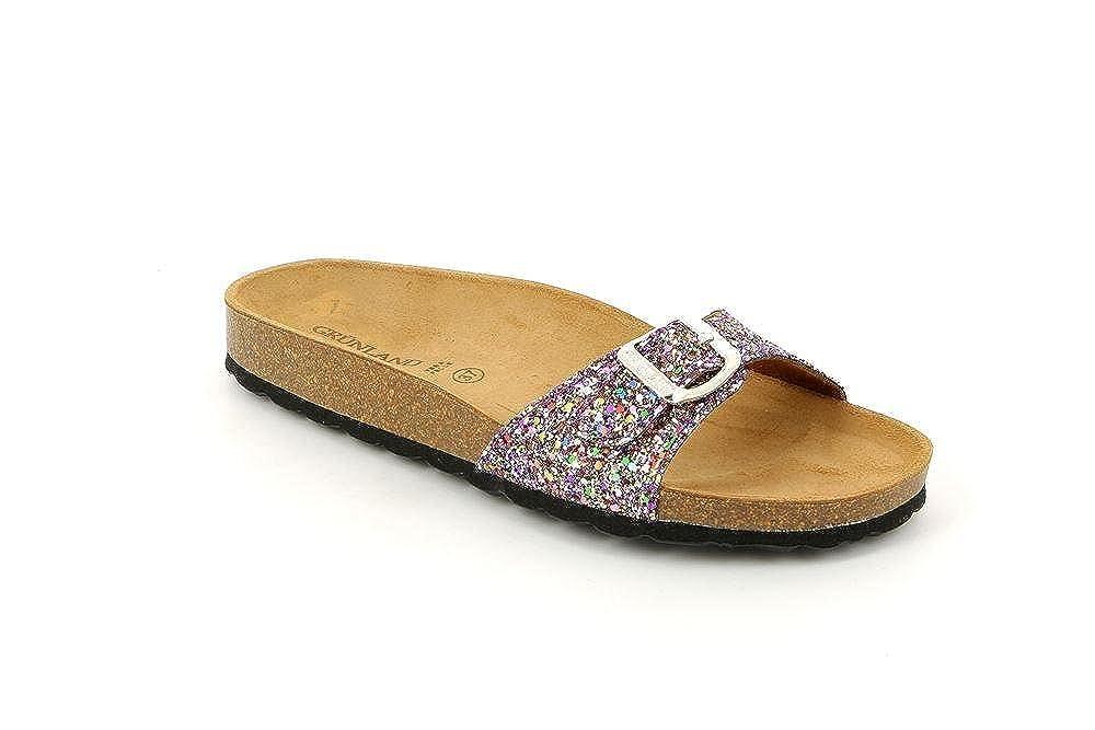 11713f0903f0a Grunland CB0436 Sara CIABATTA Donna S. Multicolor 37  Amazon.co.uk  Shoes    Bags