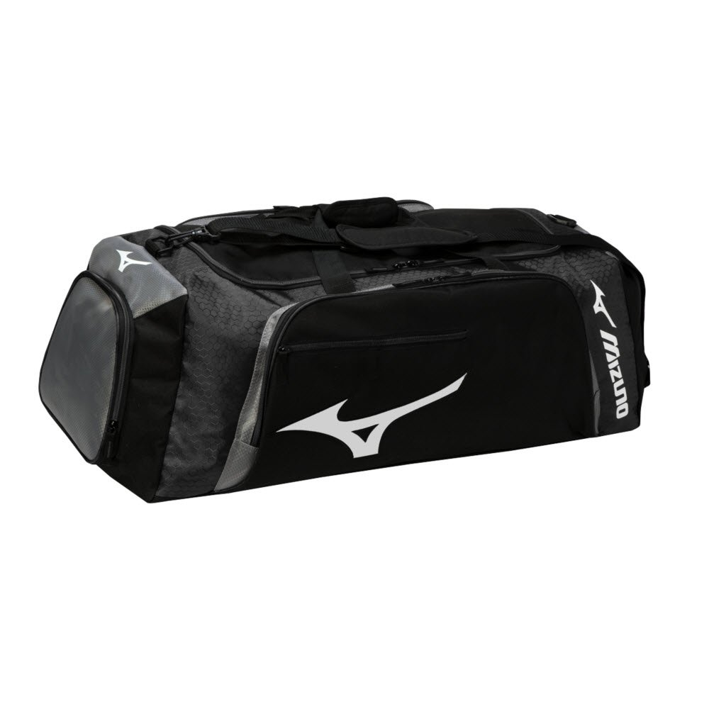 Mizuno Tornado Duffle Bag, Black/Grey