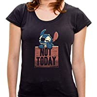 Camiseta Not Today - Feminina