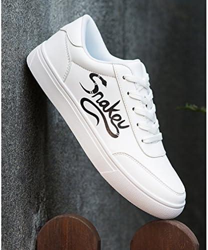 [スポンサー プロダクト][イノヤ] カジュアル ホワイト スケートボードシューズ メンズ 白の靴 白色 デッキシューズ メンズ シューズ おしゃれ レースアップ ローカット スケートシューズ カジュアルシューズ 黒