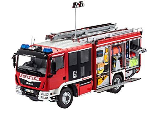 Revell 07452 - Modellbausatz - Schlingmann HLF 20 MAN TGM Euro6 im Maßstab 1:24