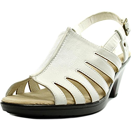 Easy Street Womens Kacia Dress Sandal White kN7gGUE