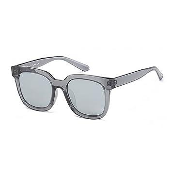 JUNHONGZHANG Gafas De Sol Polarizadas Gafas De Sol Redondas Gafas De Sol De Metal para Mujer