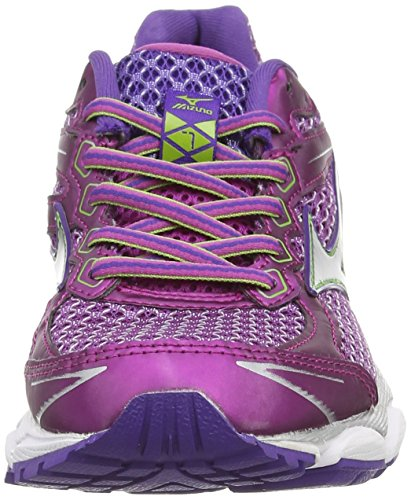 Women's 7 Wild Mizuno Aster Purple Wave Silver Running Ultima Shoes W wI1fEB1q