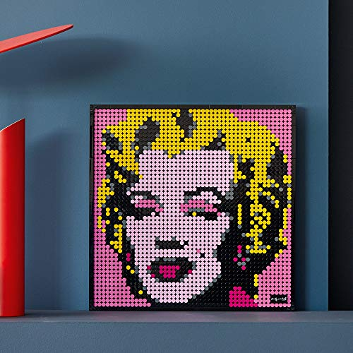 LEGO Art Andy Warhol's Marilyn Monroe 31197 Collectible Building Kit for Adults; an Excellent Gift for Adults to Make Stunning Wall Art at Home and Who Love Creative Building, New 2020 (3,341 Pieces)