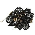 KOGOGO Steampunk Lace Bracelet Lolita Wrist Cuff with Gears 7