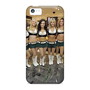 Ideal JackieAchar Case Cover For Iphone 5c(new York Jets Cheerleaders 2012), Protective Stylish Case