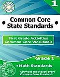 First Grade Common Core Workbook: Math Activities, CoreCommonStandards.com, 1499115806