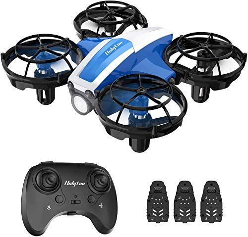 Holyton HS330 Hand Operated Mini Drone for Kids Beginners – Remote Control Quadcopter with Altitude Hold, Throw to Go…