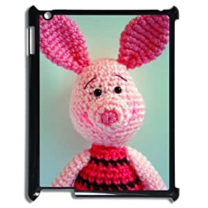 Cute cartoon pig Brand New Cover Case with Hard Shell Protection for Ipad2,3,4 Case lxa#976484 by runtopwell