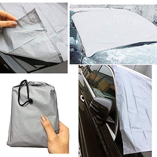 Guilty Gadgets Voorruit Cover Auto Magnetische Screen Protector Shadow Frost Shield Sneeuw Stof Zon