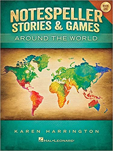 notespeller stories and games around the world book 1 elementary
