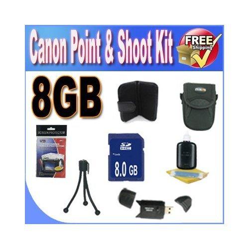 Canon PowerShot Accessory Saver Bundle