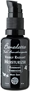product image for Benedetta Visibly Radiant Moisturizer - Rosemary Verbenone for Most Skin – Renews Hydration, Balances Complexion, Facilitates Healthy Cell Regeneration, Anti-Wrinkle, Antioxidant Rich, 1 oz (30 ml)