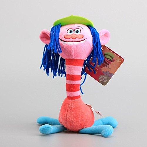 Good Dreamworks Trolls Copper Plush Toy Soft Stuffed Animal Doll 10'' Teddy Cute Gift