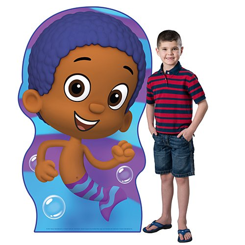 4 ft. 9 in. Bubble Guppies Goby Standee Standup Photo Booth Prop Background Backdrop Party Decoration Decor Scene Setter Cardboard Cutout -