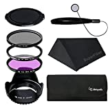LS Photography 58mm Lens Filter Accessory Kit (8 Items), LGG2