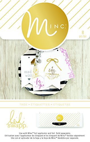 American Crafts 8 Piece Heidi Swapp Minc Tags, for You