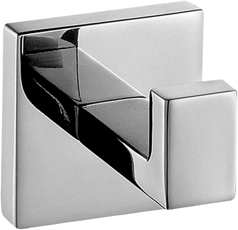 Colgador Aothpher 304 de acero inoxidable con acabado cromado para bata de baño