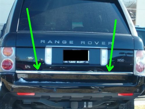 312 Motoring Fits 2003 2011 Land Rover Range Rover Precut