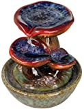 Toadstool Three Tier Tabletop Fountain