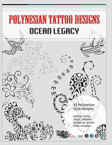 Polynesian Tattoo Designs Ocean Legacy Tt Design Books Band 1