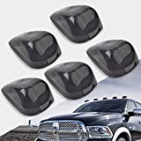 ford super duty lights - Cab Marker lights Covers,YITAMOTOR Smoke Roof Cab Marker Lights Covers Aftermarket Replacement for Ford F150 F250 F350 F450 F550 Super Duty Pickup Truck -(pack of 5)