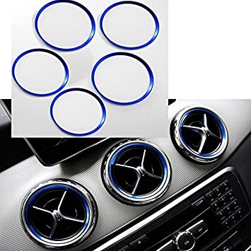 Lenkrad Emblem Rahmen 58 mm Passend Für Mercedes Benz A Klasse B Klasse GLA CLA