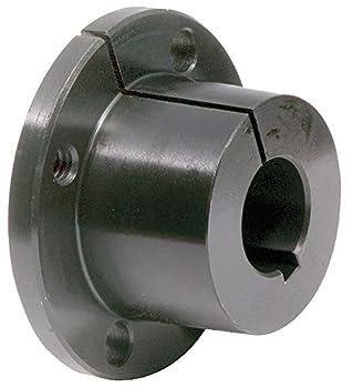 "TB Woods Type QT QT34 Sure-Grip Bushing, Steel, Inch, 0.75"" Bore, 1.625"" OD, 1.25"" Length, 1750 lbs/in Torque"