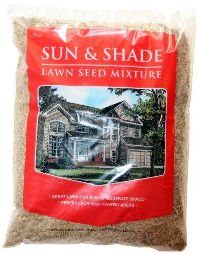 Mountain View Seed 17648 Horizon Economy Sun and Shade Grass Seed Mixture, 3-Pound