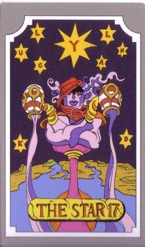 Amazoncom Jojos Bizarre Adventure Abc Tarot Card The Star 17