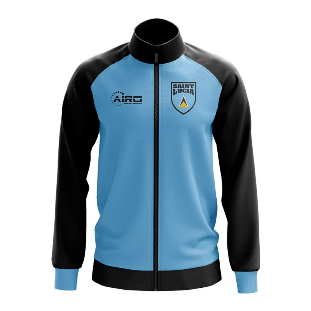 Airo Sportswear Saint Lucia Concept Football Track Jacket (Sky)